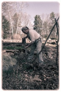 gothic-farmer-digging-soil