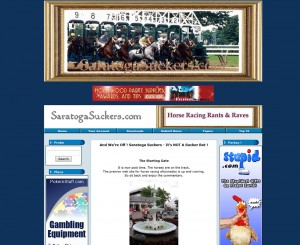 saratoga-suckers-old-home-page